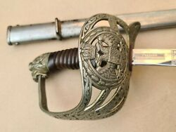 Saber Of A High-ranking Officer Of The Land Army Of The Kingdom Shs 1920 Graved