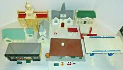 Plasticville And Littletown Oands Gauge Houses And Buildings For Train Layout