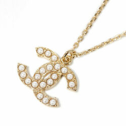 Necklace Ab5053 Pendant Coco Cc Pearl Gold Two-stage Adjustment Chain