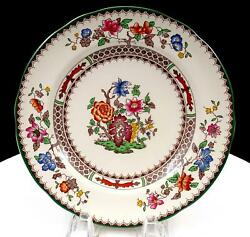 Spode Angleterre 2/9253 Imperialware Chinois Rose 7 1/2 Salade Plat 1913-2006