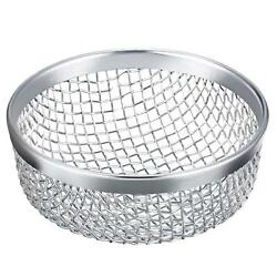 Anti-rust Flying Insect Bug Screen Camper Rv Furnace Vent Cover Silver 2pcs