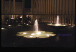 35 Mm Color Slides Lot Of 4 1962 Us Travel Seattle Worldand039s Fair Fountain Night