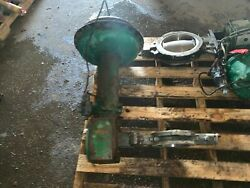 Fisher 6 Butterfly Valve 316 Cl600 E-disc W Fisher Actuator Size 60 Type 1051
