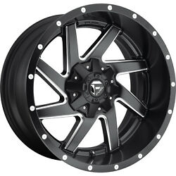 4- 20x10 Black Milled Renegade 6x135 And 6x5.5 -18 Wheels Trail Blade Mt 33 Tires