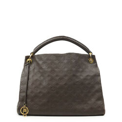 Louis Vuitton Artsy In Brown Leather