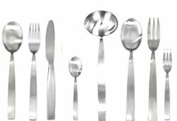 Mepra Ice Serving Set With H/h 63 Piece Brushed Stainless Steel Finish 104028063