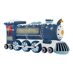 Polar Express Train Led Christmas Airblown Inflatable 4 Ft.