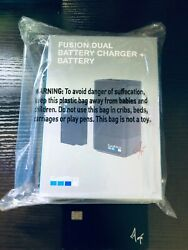 Gopro - Fusion Dual Battery Charger + Battery Hero8 Hero7 Hero6 And More