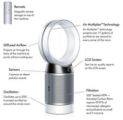 Dyson Pure Cool Bladeless Hepa Air Purifier And Fan