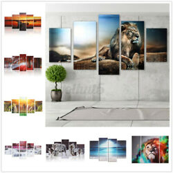 Modern Canvas Oil Painting Abstract Art Gift Mural Hanging Wall Deco