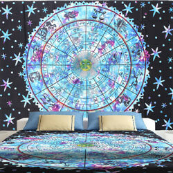 Mandala Tapestry Indian Wall Hanging Bohemian Hippie Queen Bedspread Throw β ⊥