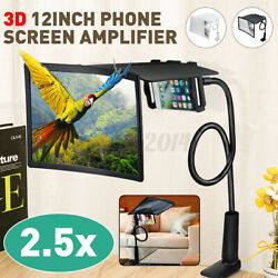 Upgraded 12and039and039 Mobile Phone Screen Amplifier Curved Foldable Lazy Phone Usa