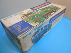 For Export To The United States Tin Toy Made In Japan Electric Locomotive
