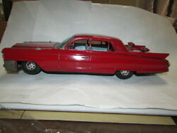 Buy At Antique Market Large In The Old Days Tin Toy Car Bandai Cadillac Showa