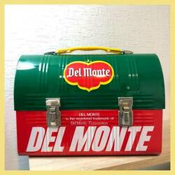 Vintage 70 Del Monte Tin Toy Can Lunch Box Showa Retro Corporate Goods Novelty