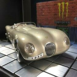 Extremely Rare Acquisition Is Difficult Autoart 118 Jaguar Ctype Metallic Bron