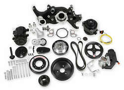 Holley 20-190bk Holley Premium Black Mid-mount Ls7 Complete Accessory System ...