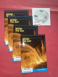 Lot 4 Discover The Sun By Patricia Brinkman 2006, Trade Paperback With Disk