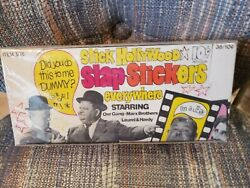 Hollywood Slap Stickers Signed Box By Little Rascal Spanky Mcfarland