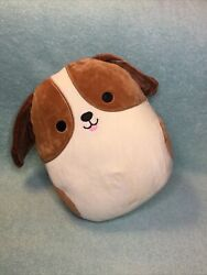 """YaY 10"""" TYREE The Tricolor BEAGLE Dog Pup W Floppy Ears Squishmallow Plush Toy"""