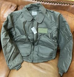 Us. Military Flyers Cold Weather Jacket Cwu-45/p Size Xlarge New