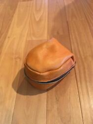 Rare Mitchell Garcia Reel 308 408 Genuine Leather Bag Things At That Time Old