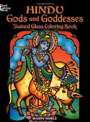 Hindu Gods And Goddesses Stained Glass Coloring Book Dover Stain