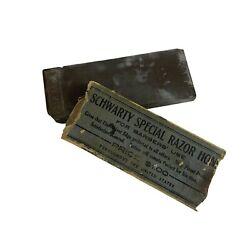 Schwarty Special Razor Hone Vintage Sharpening Stone For Barbersandrsquo Use