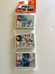 1983 Topps Baseball Rack Pack. Mike Schmidt On Top. Possible Gwynn And Boggs Rc