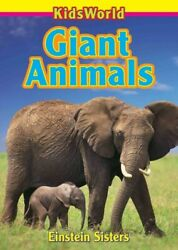 Giant Animals Paperback by Einstein Sisters Brand New Free shipping in the US