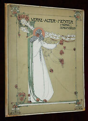Exrare Art Nouveau Jessie Kingand039s Most Amazing Cover-huge-1st Edn 1903 Wow