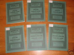 Glendining And Co. Coin Catalogues - 1980 - 6 In All