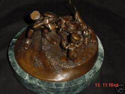 Disney Hudson Pewter Foursome Follies Le. Sculpture Bronze Made In Usa