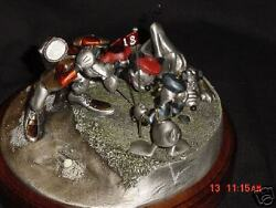 Hudson Pewter Disney Foursome Follies L.e. Sculpture Made In Usa