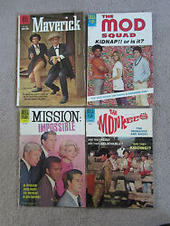 Huge 1950and039s/60and039s Tv Comic Collection. Dell Gold Key