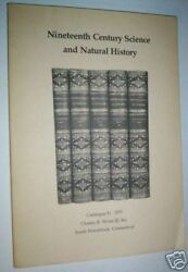 Rare Books. 19th-century Science And Natural History.