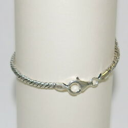 3 Pieces 9 Antique Finished Oxidized 3mm Foxtail 925 Sterling Silver Anklets