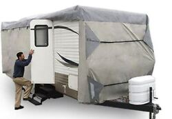 Expedition Premium Rv Travel Trailer Cover Fits 18-20 Ft 18 19 20 Foot