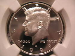 1999 S Silver Kennedy-ngc Pf 70 Ultra Cameo