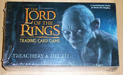 LOTR LORD OF THE RINGS TREACHERY & DECEIT BOOSTER BOX