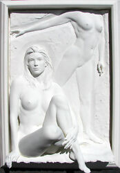 Bill Mack ILLUSION Bonded Sand Women Sculpture Hand SIGNED LK! SUBMIT OFFER!
