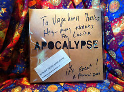 Apocalypse -tshirt For 'crazy' Signed By Richard