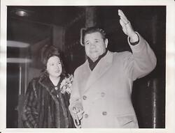 2/5/42 Babe Ruth Pride Of The Yankees Movie - News Photograph