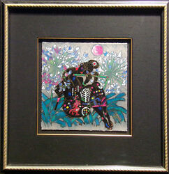 Tie Feng Jiang Spring From Song Of The Seasons Suite Framed Hand Signed L@@k