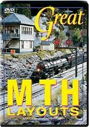 Great Mth Layouts Part 1 And 2 O Gauge Layout Dvd New