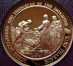 Thomason Medallic Bible 20 Moses Discovered By Pharaohand039s Daughter Franklin Mint