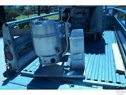 Steam Jacketed Kettle, Model Tdh/20 ,nat Gas,grown,c/t, 900 Items On E Bay