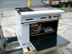 Stove/oven/grill Combo, Gas, New, 2 Brners,etc, More Options, 900 Items On E Bay