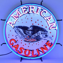Wholesale Lot Of 6 Western Neon Signs Southwest Cowboy Usa Flag American Gas Oil