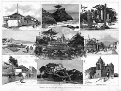 Monterey And The Hotel Del Monte, Carmel Mission, Chinese Fishing Village And Boat